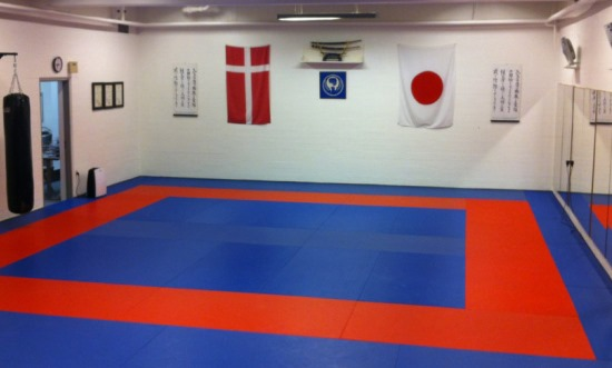 Silkeborg karateklub dojo_tom